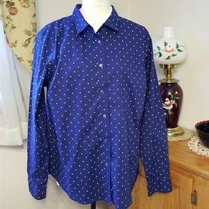 L.L.Bean XL button down long sleeve shirt